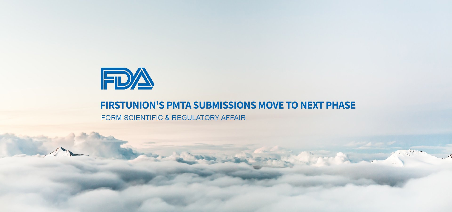 PMTA,fda,firstunion